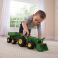 Tractor w/ Gravity Wagon