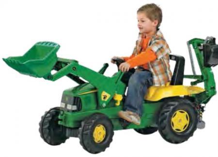 Premium Tractor w/ Loader & Excavator